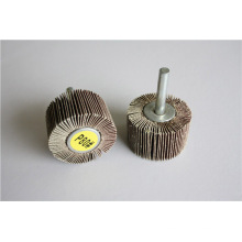 Aluminium Oxide Abrasive Flap Wheel with Shaft for Polishing