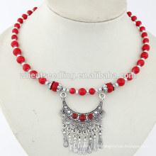 2014 nouveau produit yiwu imitation bijoux à la mode imitation de colliers Bohemia