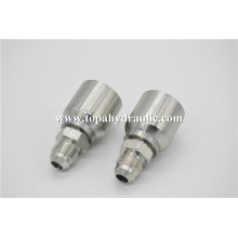 Carbon Steel hose hydraulic one piece fittings