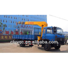 4 x 2 Dongfeng Longhead Truck with loading Crane For Sale at Good Price
