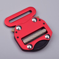 45mm High Strength 300KG Anodic Oxidation Adjustable Belt Buckle Cobra Buckle For Military