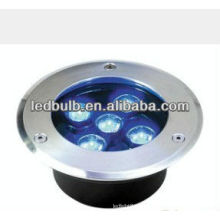 5W IP66 blaue Farbe führte unterirdische Lampe
