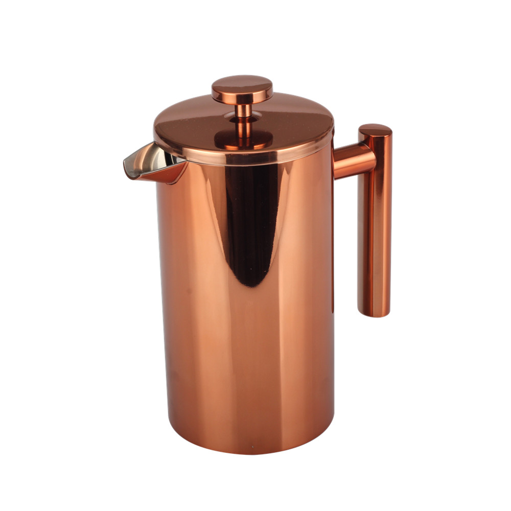Copper Double Wall French Press
