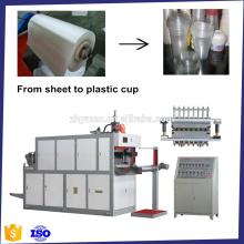 Copo plástico que faz plástica de Copa fazendo máquina, termoformagem,