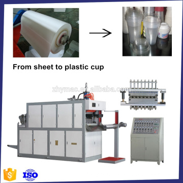 Plastic cup making machine, Thermoforming, Making cup plastic