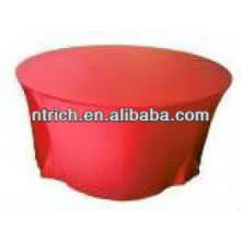 Coating table cloth, lycra table cloth, elastic table cloth