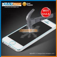 Anti-traces antichoc et verre trempé protecteur d'écran pour iphone 5 G/5 C/5 s