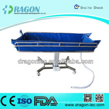 DW - HE018 electric shower bath bed hospital equipment