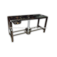 Stainless Steel Autopsy Dissection Table