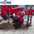 Chicken manure fertilizer pellet mill