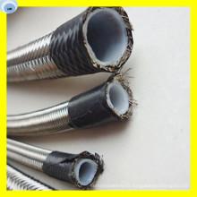 Corrugated PTFE Hose Flexible PTFE Pipe R14 Hose