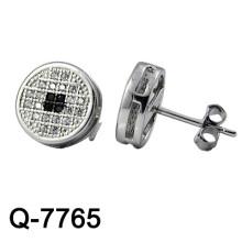Nueva joyería de plata de los pendientes de la manera del diseño 925 (Q-7765. JPG)