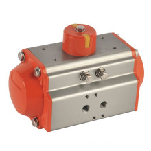 rotary actuator AT50S/D spring return double acting single acting pneumatic 90 degree rotary actuator