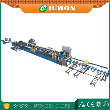 IUWON Highway Guardrail Roll dá forma à máquina