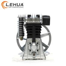 1.5kw 2hp 2055 aluminium luftkompressor pumpe mit riemenscheibe
