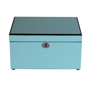Tiffany Blue Ladies Two Layers Schmuckschatulle