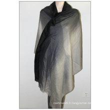 écharpe en laine femme printemps et été