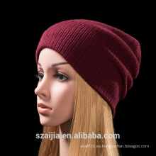 2015autumn invierno Nuevo estilo clásico sólido tejido de sombrero