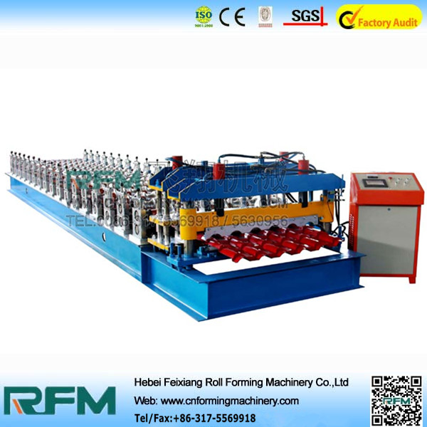 glazed galvanized roofing sheet forming machine