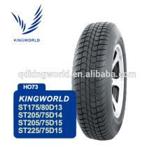 Fábrica profissional ST175/80 D13 6PR Trailer pneu