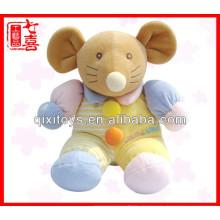 Muñeca al por mayor del juguete del juguete del bebé del ratón pequeña para