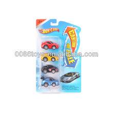 6cm com cartão blister dupla cartoon carro diecast