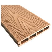 Waterproof Outdoor WPC Decking Board Deep Embossed Wood Texture Hardwood Flooring Seaside Wood Plastic Composite Decking