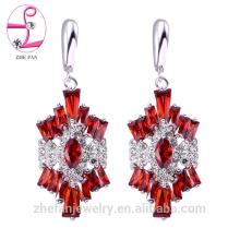 Zhefan mini ordre 2018 mode 925 sterling argent femmes boucles d'oreilles, en gros femmes mode boucle d'oreille