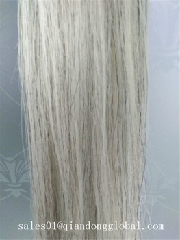 White False Horse Tail Hair