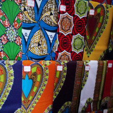 cotton wax fabrics Exported To Africa Market
