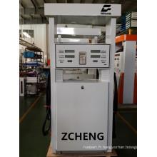 Zcheng White Color Filling Station Double Buse de pompe à deux