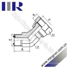 45 Cotovelo Orfs Masculino O-Ring / Orfs Adaptador Hidráulico Feminino (2F4)