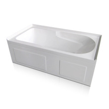 60 x 32 Modern Alcove Soaking Tub