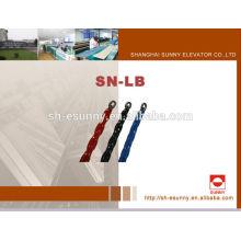 2014 Горячие Продажа Лифт завернутый в пластик компенсации цепь SN-ЛБ, пластиковые роликовые цепи