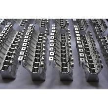 Peças de maquinaria de aço inoxidável do trabalho feito com ferramentas do CNC