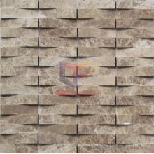 Light Emperador Stone Mosaic (CFS888)