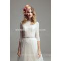 OEM подгонянное ODM белые свадебные платья