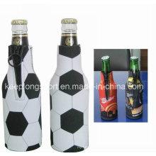 Moda de transferencia de calor de impresión neoprene titular de la botella, nevera botella de neopreno, Stubby titular de la cerveza