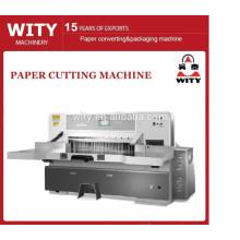 Cortador de papel hidráulico automático