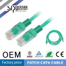 SIPU бесплатный образец фабрика Цена 24AWG UTP CAT6 кабель локальной сети Ethernet кабеля Cat6 патч-корд 2m 3m 5m