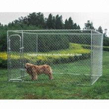 Chain Link Metal Dog Kennel Enclosures