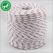 High wear resistance 3 strand PP danline rope for marine