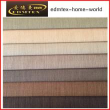 100% poliéster 3 Pass Blackout tecido para cortinas EDM4598