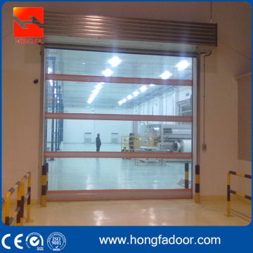 Genomskinlig PVC Great Performace High Speed ​​Door