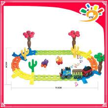 2014 HEISSE VERKAUFSPRODUKTE! 2188 ELEKTRISCHE TRACK FAHRZEUGE thomas Track Rail Car Mit Licht und Musik Track Block Spielzeug
