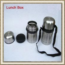 Caja de almuerzo del acero inoxidable / envase de alimento (CL1C-J075G)