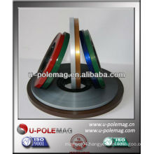 colored magnetic strip for advertising