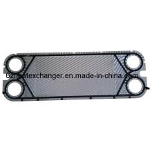 Placa de intercambiador de calor para refrigeración por agua y aceite (igual a M10B / M10M)