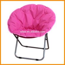 Cadeira de acampamento redonda lua dobrável