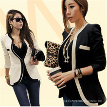 Trajes de negocios de las mujeres coreanas Slim Fitting Fashion Fashion (50175)